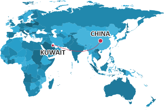 Shipping From China to Kuwait | China Logistics Services Forwarder