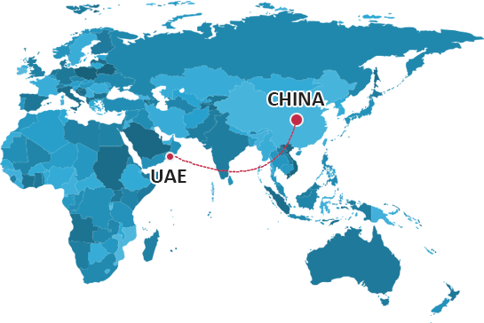Shipping From China to UAE | China Logistics Services Forwarder